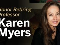 honoring karen myers banner