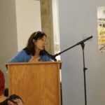 Barbara Goldstein, Executive Director of the Holocaust Education Resource Council, co-sponsor of Ms. Fohrman's lecture.