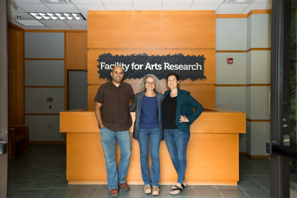 (L to R) Rob Duarte, Judy Rushin, Denise Bookwalter