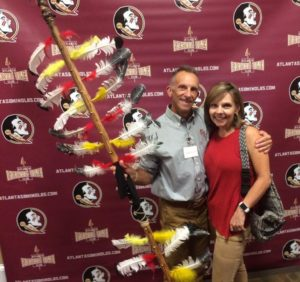 Chuck and Jacqueline Whited Celebrate FSU