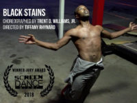 black stains award poster