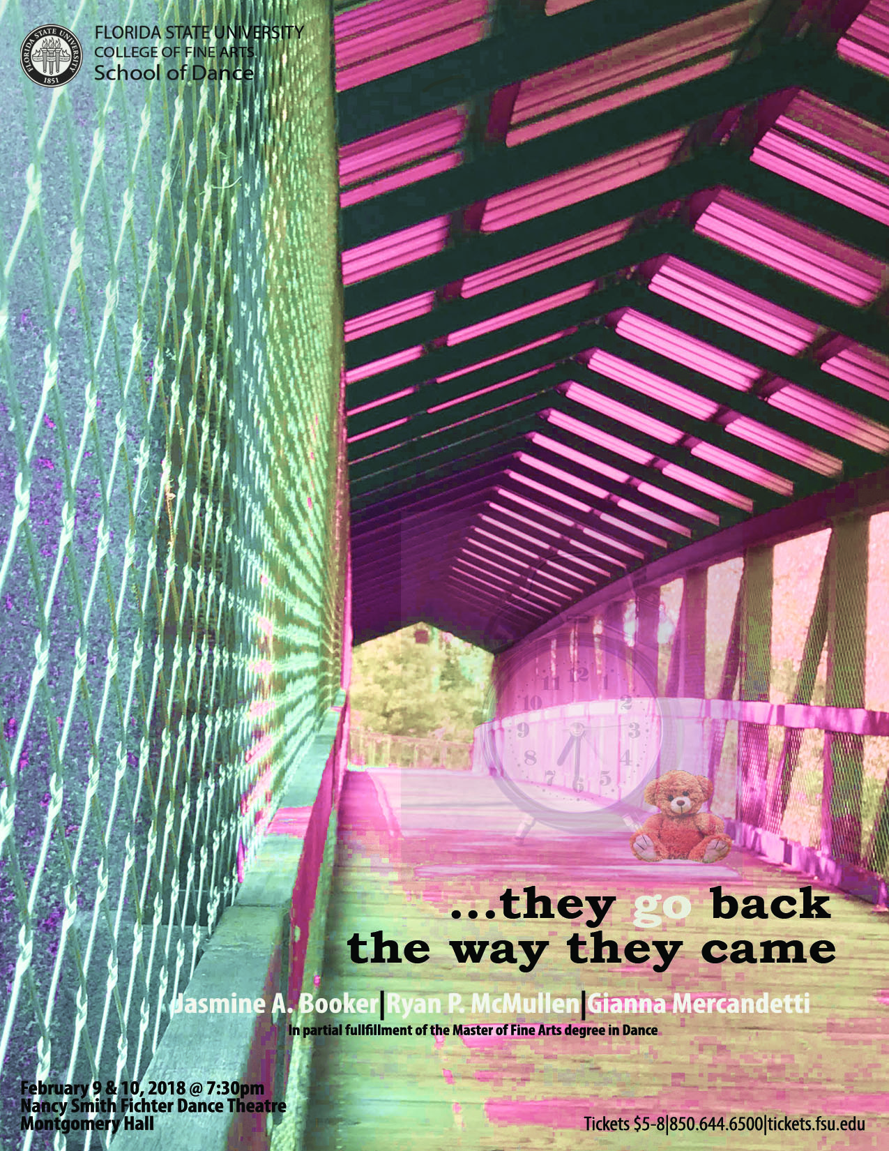...they go back the way they came Poster