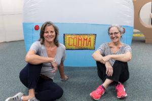 (L to R) Carolyn Henne & Judy Rushin