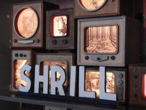 """""""Shrill"""" by Amy Fleming, an artist who creates mixed media from discarded trash that has been changed through time, is featured in the Marco Island Center for the Arts' November """"By Virtue of Place: FSU MFA Alumni Exhibition."""