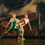 """Cedric Andrieux and Lisa Bourdreau in """"Interscape"""""""