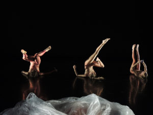 "Sarah Rose's ""Opening, again""   Dancers: Taylor Ballard, Mara Goebelbecker, Sarah Rose;   Photographer: Ryker Laramore"