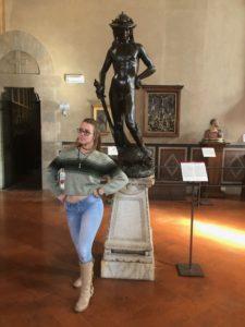Martha with David by Donatello