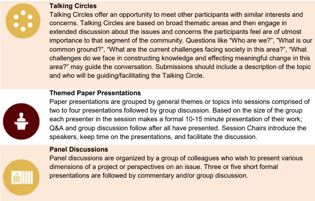 Breakout Sessions List 1
