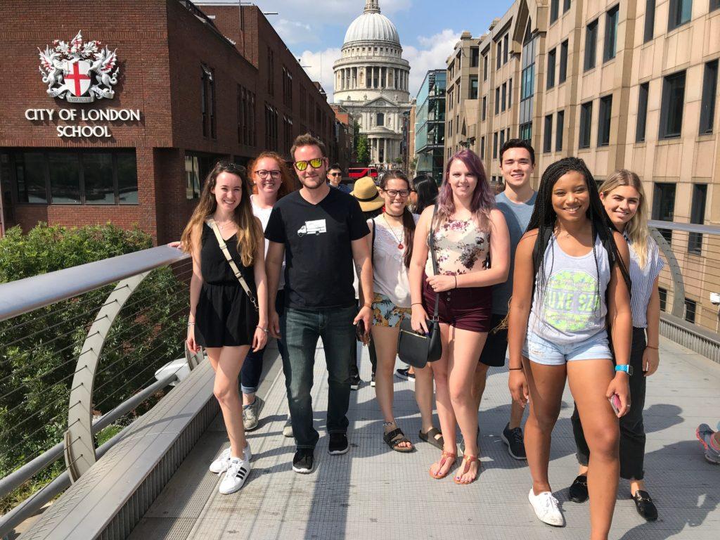 IAD Students in London