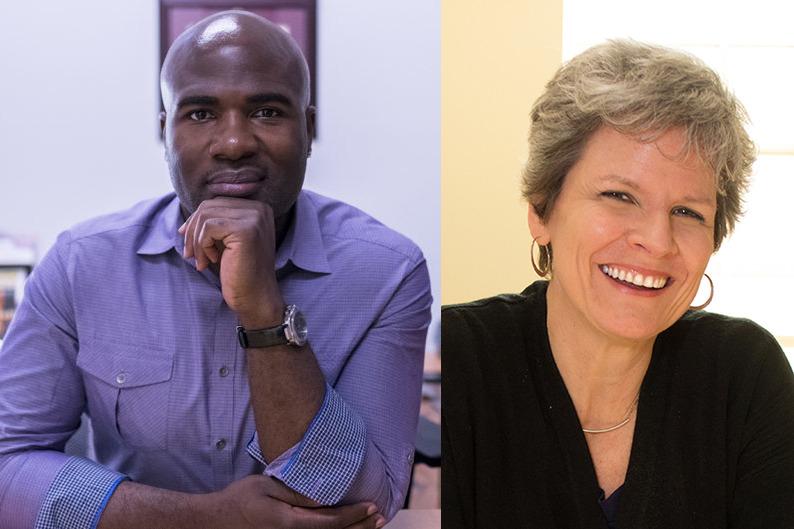 Antonio Cuyler and Jill Pable